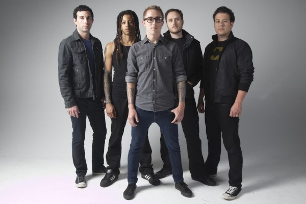 Yellowcard photographed by Megan Thompson