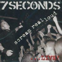 7 Seconds - Scream Real Loud (Cover Artwork)