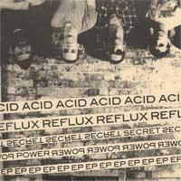 Acid Reflux - Secret Power [7 inch] (Cover Artwork)