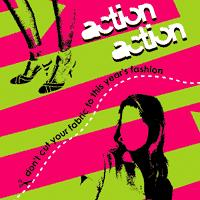Action Action - Don't Cut Your Fabric To This Year's Fashion (Cover Artwork)