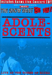 Adolescents - Live at the House of Blues DVD (Cover Artwork)