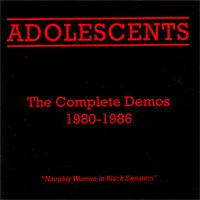 Adolescents - The Complete Demos 1980-1986 (Cover Artwork)