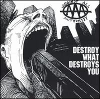 Against All Authority - Destroy What Destroys You (Cover Artwork)