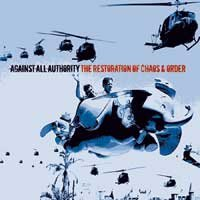 Against All Authority - The Restoration of Chaos & Order (Cover Artwork)