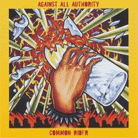 Against All Authority / Common Rider - Split (Cover Artwork)