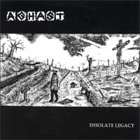 Aghast - Desolate Legacy [7 inch] (Cover Artwork)