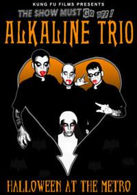 Alkaline Trio - Halloween at the Metro DVD (Cover Artwork)
