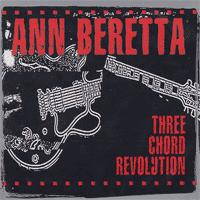 Ann Beretta - Three Chord Revolution (Cover Artwork)
