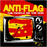 Anti-Flag - The People or the Gun. (Cover Artwork)