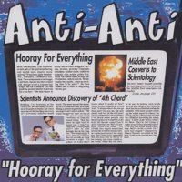 Anti-Anti - Hooray For Everything (Cover Artwork)