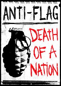 Anti-Flag - Death Of A Nation DVD (Cover Artwork)