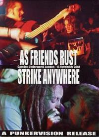 As Friends Rust/Strike Anywhere - live DVD (Cover Artwork)