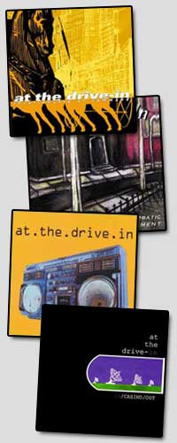 At The Drive-In - Reissues (Cover Artwork)