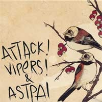 Attack! Vipers! / Astpai - Split (Cover Artwork)