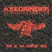 Axegrinder - Rise of the Serpent Men [reissue] (Cover Artwork)