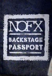 NOFX - Backstage Passport [series] (Cover Artwork)