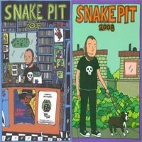 Ben Snakepit - Snakepit 2007/2008 [books] (Cover Artwork)