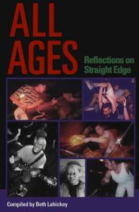Beth Lahicky - All Ages: Reflections on Straight Edge (book) (Cover Artwork)