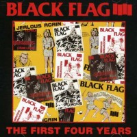 Black Flag - The First Four Years (Cover Artwork)