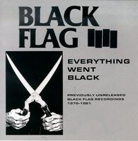 Black Flag - Everything Went Black (Cover Artwork)