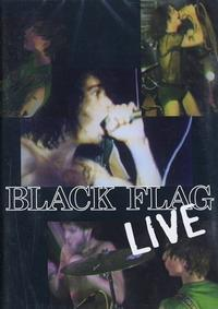 Black Flag - Live DVD (Cover Artwork)