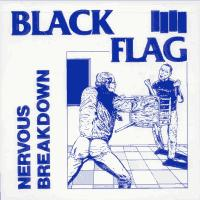 Black Flag - Nervous Breakdown (Cover Artwork)