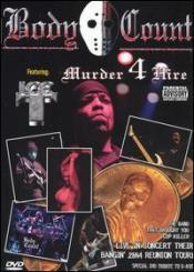 Body Count - Murder 4 Hire DVD (Cover Artwork)