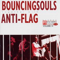 Bouncing Souls/Anti-Flag - BYO Split Series Volume 4 (Cover Artwork)