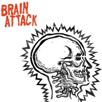 Brain Attack - Brain Attack [7-inch] (Cover Artwork)