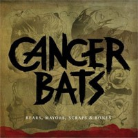 Cancer Bats - Bears, Mayors, Scraps & Bones (Cover Artwork)