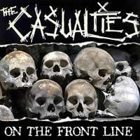 The Casualties - On The Front Line (Cover Artwork)