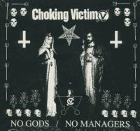 Choking Victim - No Gods / No Managers (Cover Artwork)