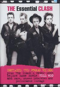 The Clash - Essential Clash DVD (Cover Artwork)