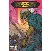 Claudio Sanchez / Chondra Echert  - The Key of Z: Issue 1 (Cover Artwork)