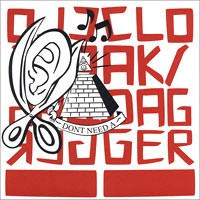 Cloak/Dagger - Don't Need A [7 inch] (Cover Artwork)