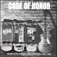 Code of Honor - Complete Studio Recordings 1982-1984 (Cover Artwork)