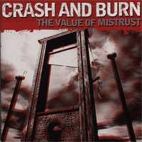 Crash And Burn - The Value Of Mistrust (Cover Artwork)