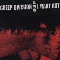 Creep Division/I Want Out - Split LP (Cover Artwork)