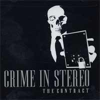 Crime In Stereo - The Contract (Cover Artwork)