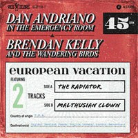 Dan Andriano - European Vacation [7-inch] (Cover Artwork)