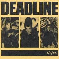 Deadline - 8/2/82 (Cover Artwork)