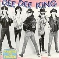 Dee Dee King - Standing in the Spotlight (Cover Artwork)
