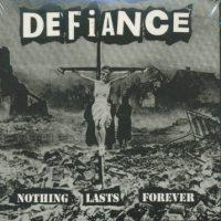 Defiance - Nothing Lasts Forever (Cover Artwork)
