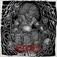 Desolation - Rest in Panic [7-inch] (Cover Artwork)