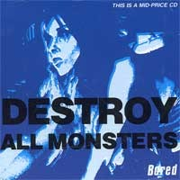Destroy All Monsters - Bored (Cover Artwork)
