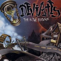 Deviates - Time Is the Distance (Cover Artwork)