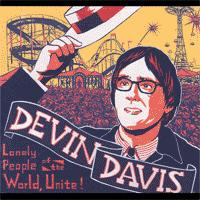 Devin Davis - Lonely People Of The World, Unite! (Cover Artwork)