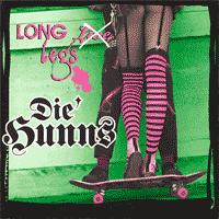 Die Hunns - Long Legs (Cover Artwork)