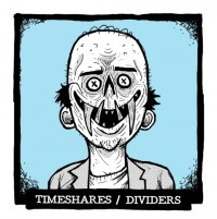 Dividers / Timeshares - All-in-Vinyl Series 3 Split 7 (Cover Artwork)