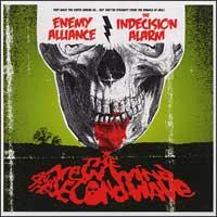 Enemy Alliance / The Indecision Alarm - The New Wind and the Second Wave (Cover Artwork)